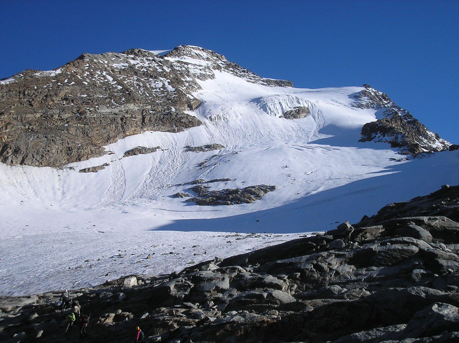 Punta Giordani - Monte Rosa