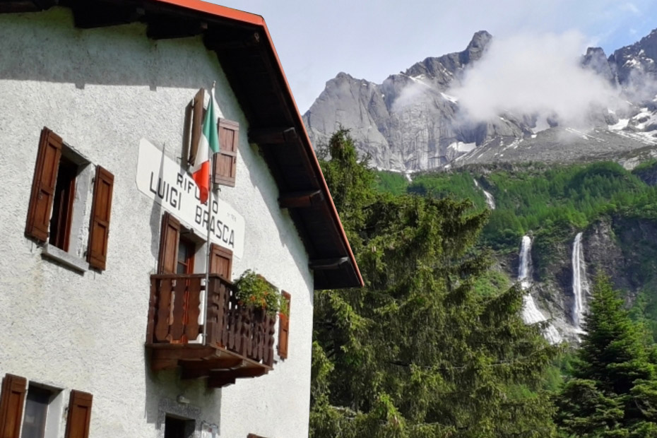 Rifugio Brasca - Val Codera